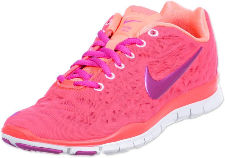 pink trainer | retour Home Nike Free Trainer Fit 3 W chaussures néon rose