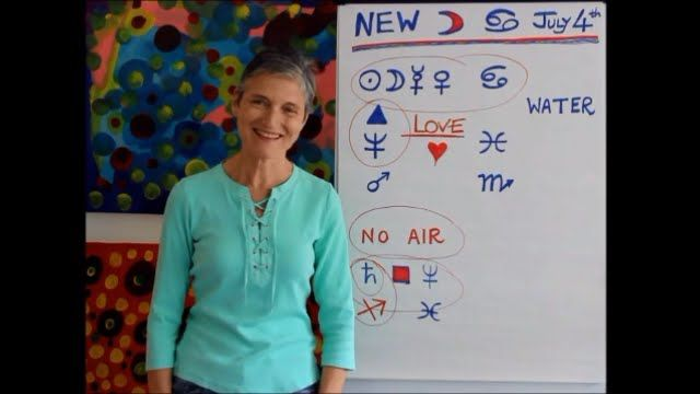 NEW MOON in CANCER July 4th  - Food for the Soul by @barbgold50 on YouTube (8:29min)