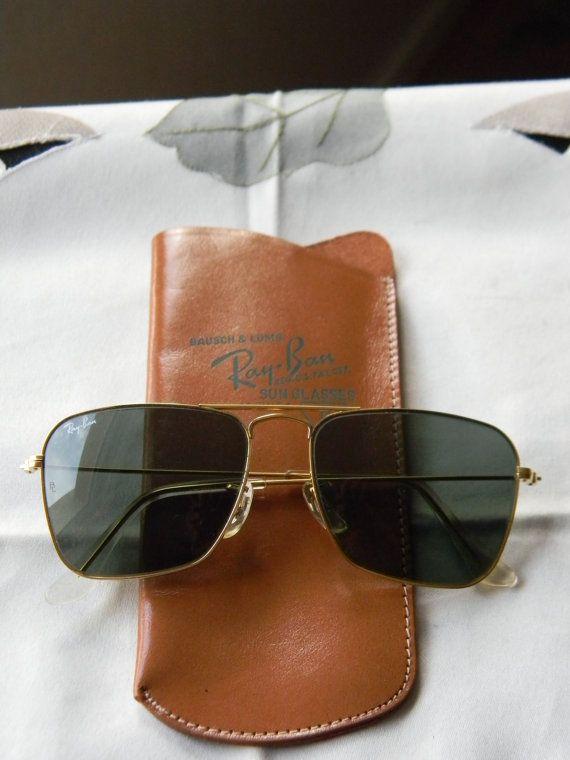 Original Vintage Ray Ban B&L USA 1970s Sunglasses 52 16 by tamtas, £165.00
