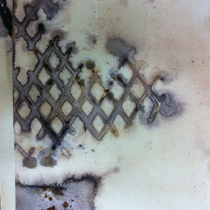 paper, tea, rust by Alice Fox