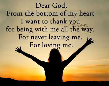 Thank You God For Everything In My Life Todays Praver God Thank
