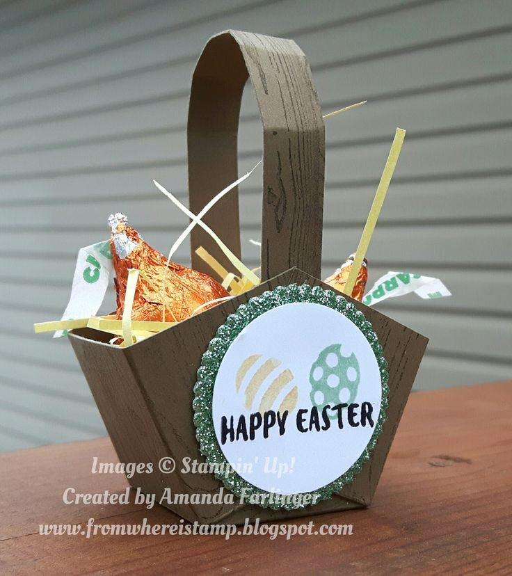 I really enjoy making thank you gifts for our all day crop attendees. For the April 1st crop I made these cute baskets. Inside I put some ...