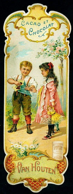 Carl and Mae...1934   Van Houten Tradecard by cigcardpix, via Flickr
