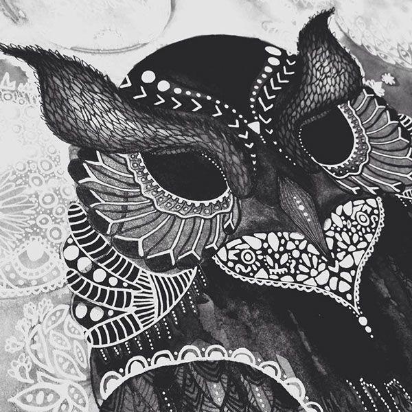 Owl Illustration on Behance