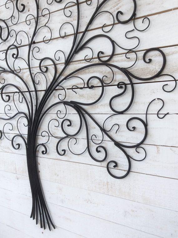 1000 id es sur le th me mur de fer sur pinterest fer for Arbre mural en fer forge