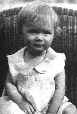 Mary Frances Reynolds (a.k.a. Debbie Reynolds) on April Fools' Day, 1932, in El Paso, TX.