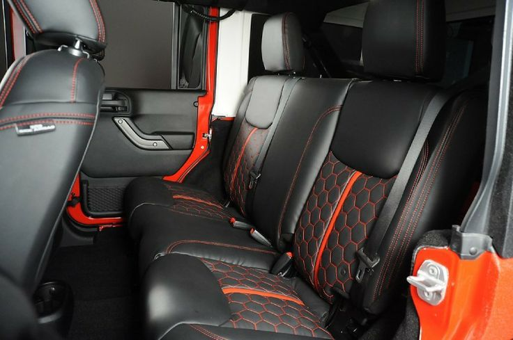 26 Best Jeep Interiors Custom Leather Upholstery Kits For On Or Off Roading Comfort Images On