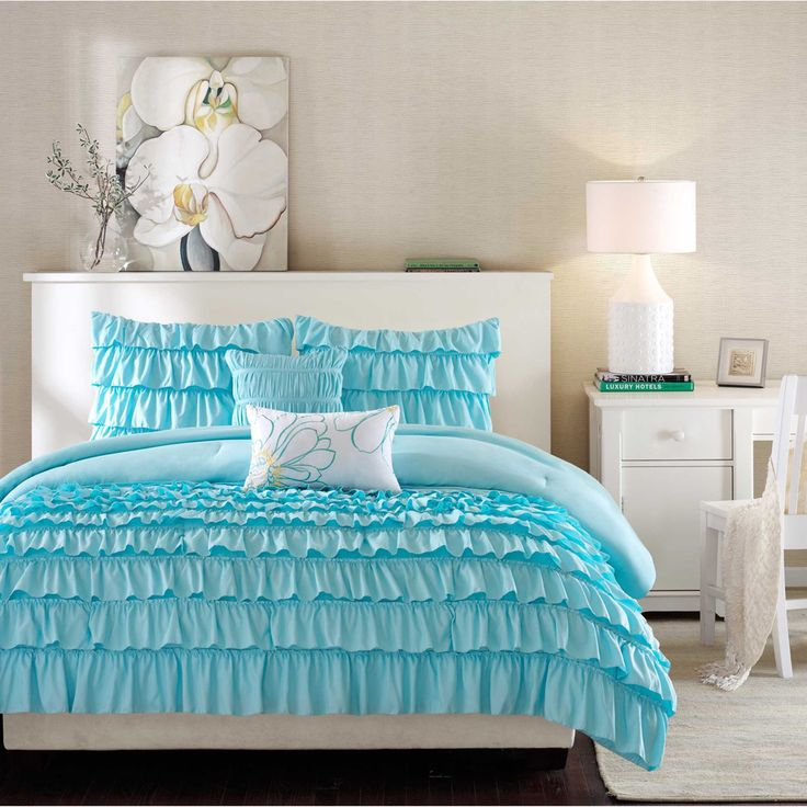 Blue Bedroom Sets For Girls best 25+ teen comforters ideas only on pinterest | teen bedroom