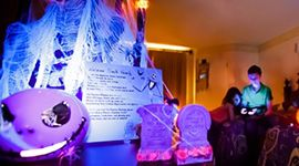 Skellington Mickey's Haunted Adventure by Disney Floral & Gifts #wdw #disneyworld #NotSoScary