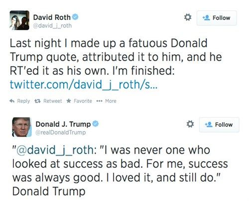 In Case You Needed Confirmation, Donald Trump is the Most Vain Human Being Alive