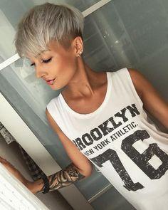 Versuch es mit noch helleren Haaren! 10 frische blonde Kurzhaarschnitte, die Dich strahlen lassen! – Neue Frisur – http://bargain-toptrendspint.blackjumpsuitoutfit.tk