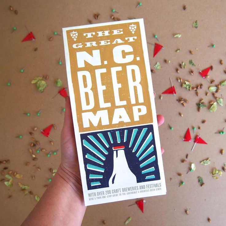 The Great NC Beer Map North