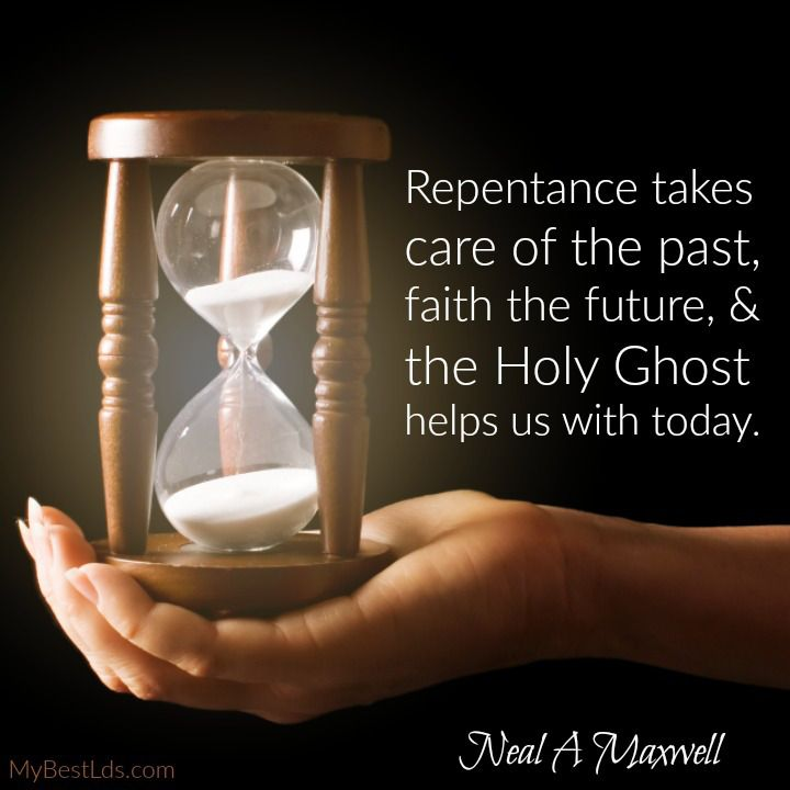 The Holy Ghost helps us with today