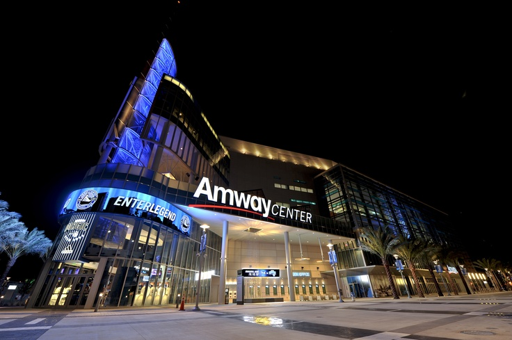 Amway Center - Home of the Orlando Magic