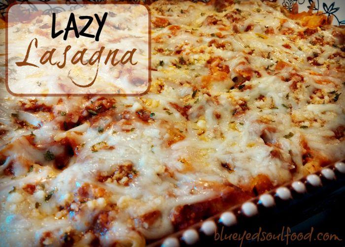 Lazy Lasagna Aka Sour Cream Noodle Bake Lazy Lasagna