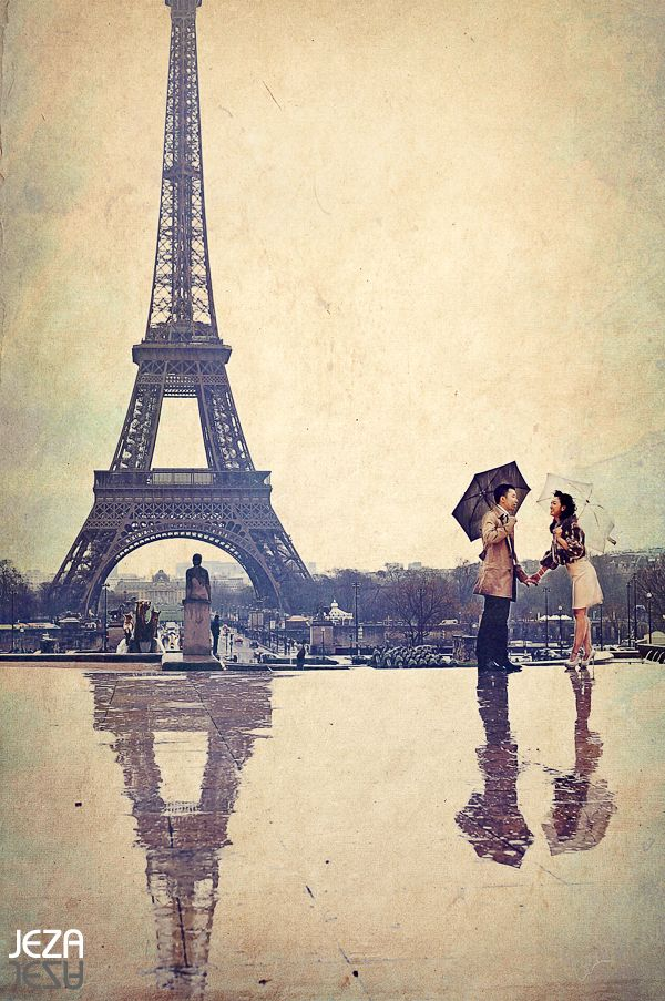 Famous Painting Of Raining In Paris