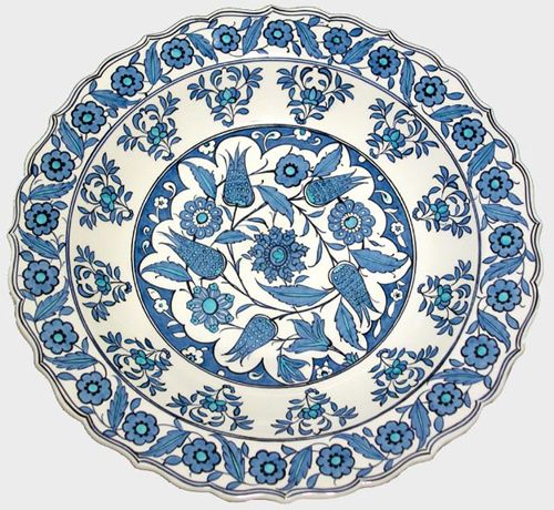Turkish Ceramic Plate #decor