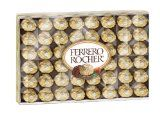 Great Christmas gifts for her: Flowers and Chocolates Ferrero Rocher Fine Hazelnut Chocolate