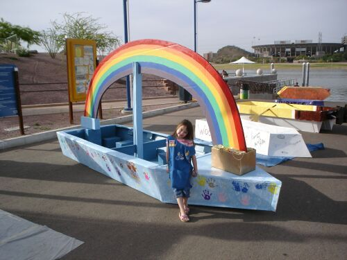 13 Best Cardboard Boat Diy Images On Pinterest