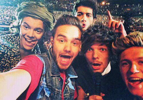 One Direction Selfie!