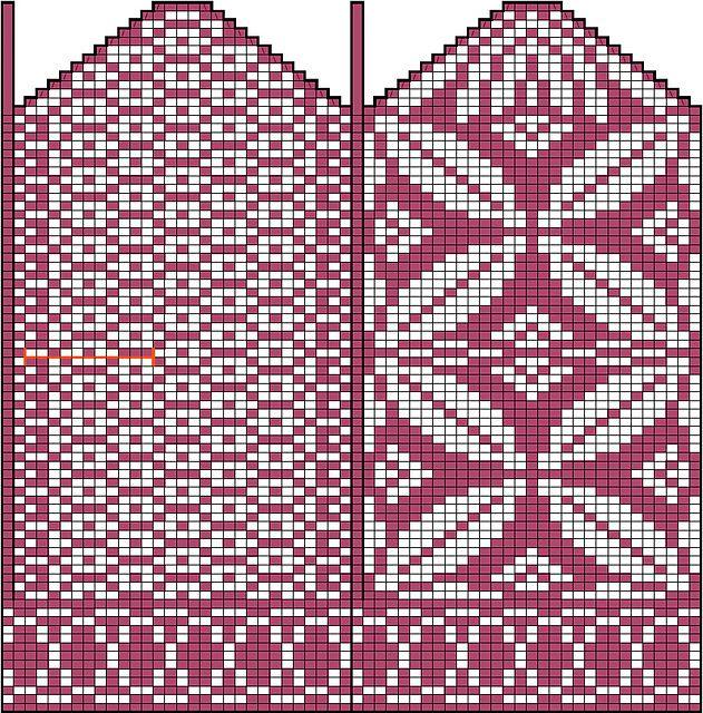 Ravelry: Bernoulli mittens pattern by Maria Lärkäng