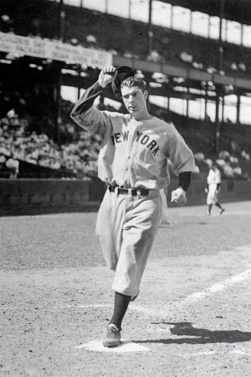 July 9, 1937 Joe DiMaggio hits for the first of his two career cycles as he hits two home runs, a triple, a double and a single helping the Yankees maul the Senators 16-2. DiMaggio will accomplish this feat again in 1948.