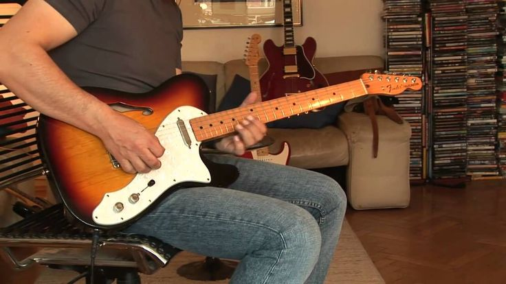 Fender Telecaster Thinline (made in Mexico) Part 1