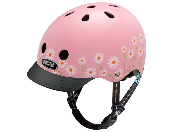 Casque de vélo Nutcase Little Nutty - Rose Daisy