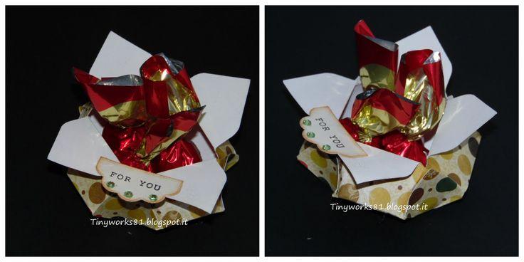 "Tutorial Box Natalizia ""Envelope punch board """