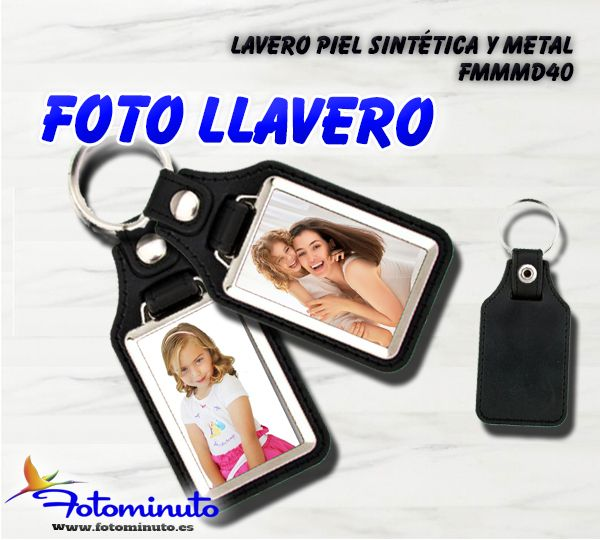 Foto-llavero personalizado