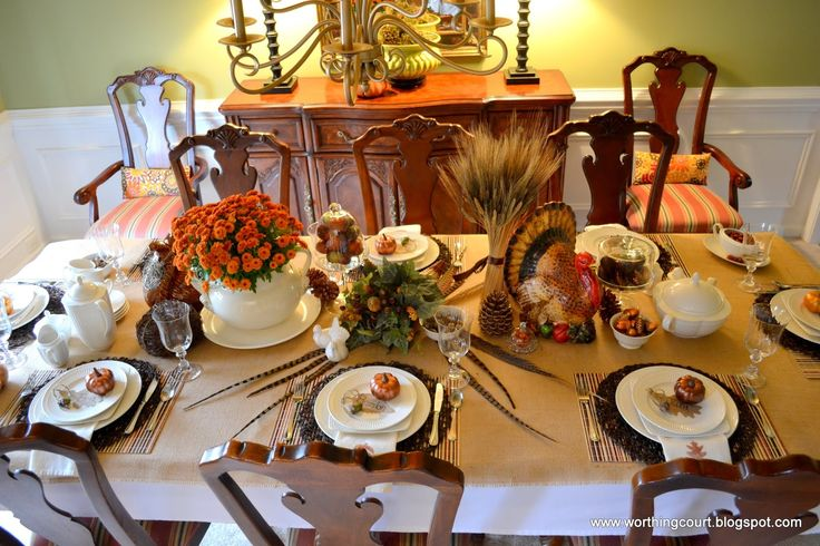 turkey table decorations:gorgeous exciting table decoration for thanksgiving party white dinner plate white large bowl ceramic vase with orange monte cassino aster hurricane g