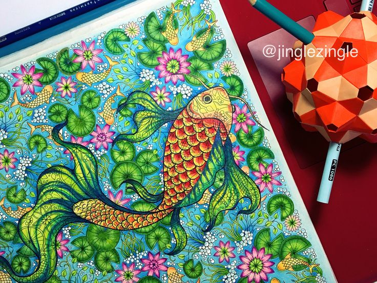 Creative Drawing On Johanna Basfords Secred Garden Coloring Book Prismacolor Soft Core Pencils