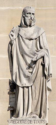 Gregory of Tours (538-594), in La gloire de confesseurs, writes of a church…