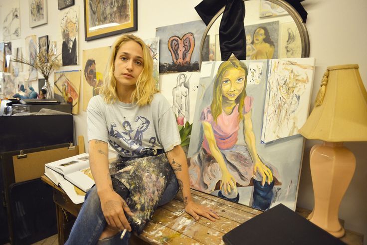 Inside Jemima Kirke's Faraway Brooklyn Studio, Where She's Just Restarting Life After Girls