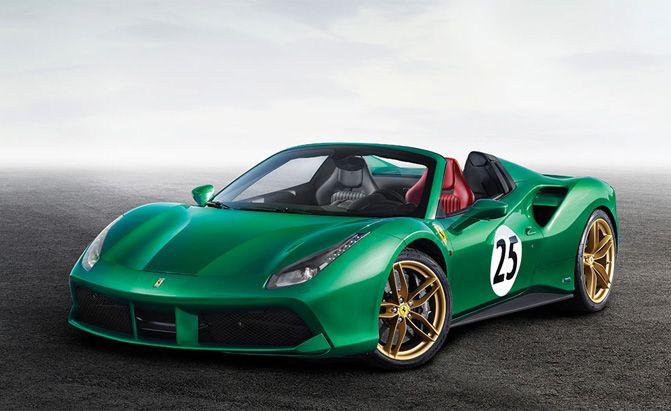 Top 10 Most Unique Ferrari Supercars Going To Auction With Images Ferrari Bugatti Cars Ferrari 488