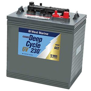 Selecting a Marine Storage Battery | West Marine