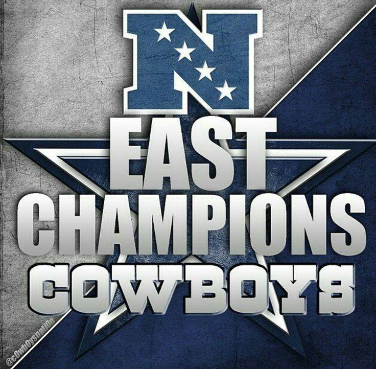 DALLAS COWBOYS NFC EAST CHAMPIONS