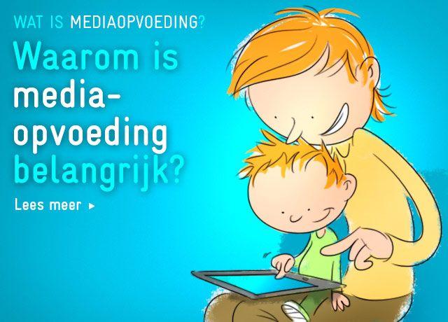 Media-opvoeding peuters en kleuters.