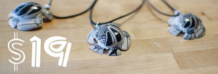 Turtle Necklaces now only $19. Buy yours online today at: www.theturtleproject.com.au or see our Turtle Project Table at HM Conference 2015!