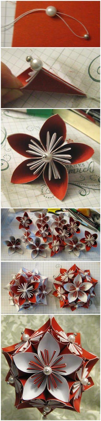 joybobo: Kusudama Flower & Ornament