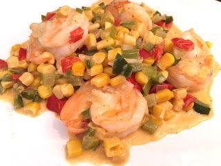 Club Foody Recipes and Videos: Shrimp Maque Choux