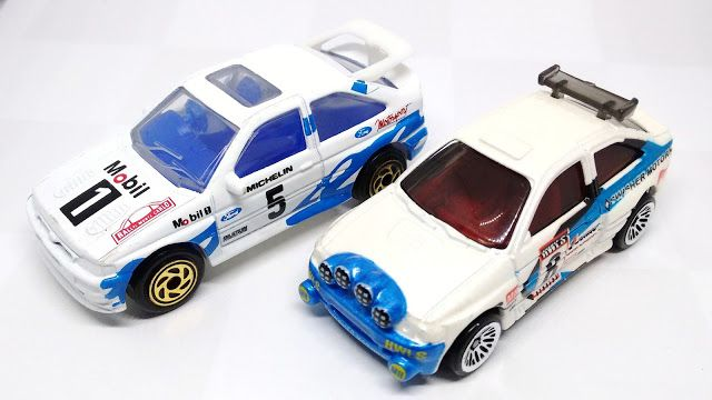 The Western Diecast Review: 30 Years of Rally History: Ford Escorts in 1/64 Sc...