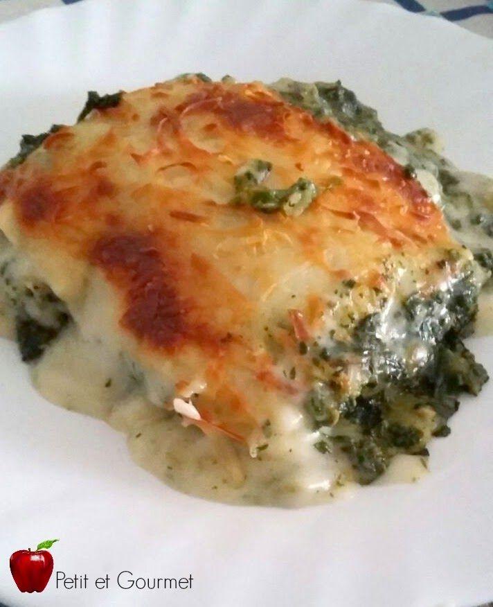 Petit et Gourmet: Canelones de atún y espinacas/ Tuna fish and spinach cannellone