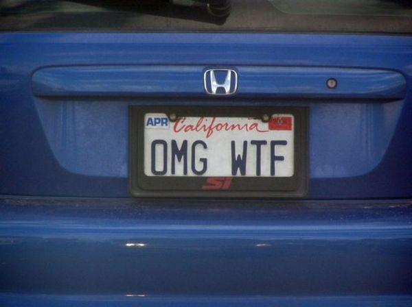 211 Best Images About Funny License Plates On Pinterest
