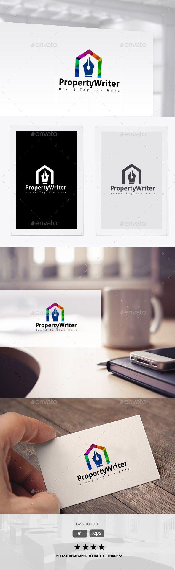Property Writer u2014 Vector EPS company real