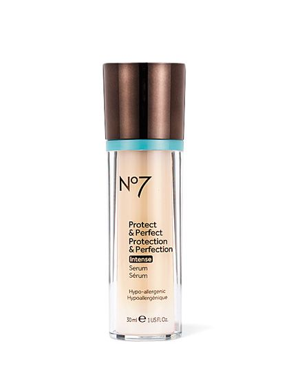 10 Under $30: The Best Drugstore Anti-aging Products: Beauty Products: allure.com  (Boots No7 Protect & Perfect Intense, at Target, $24) #bootsbeautyusa