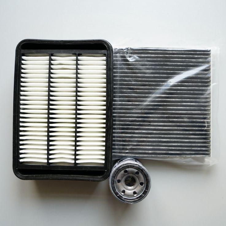 oil filter + cabin filter + air filter for MITSUBISHI asx Outlander 2010--