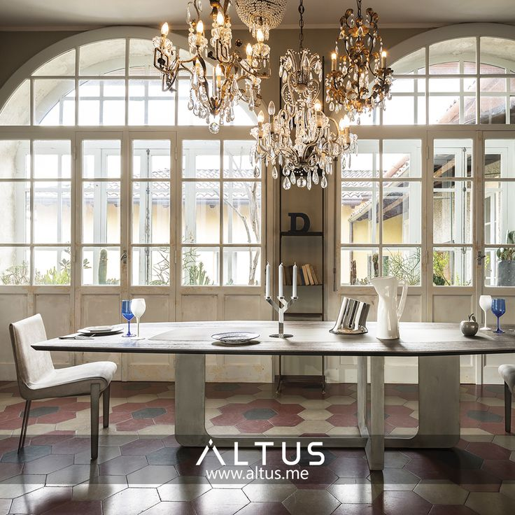 Atlante Dining Table From Arketipo Firenze Designed By Mauro Lipparini Made In Italy Beirut LebanonContract FurnitureDining Room