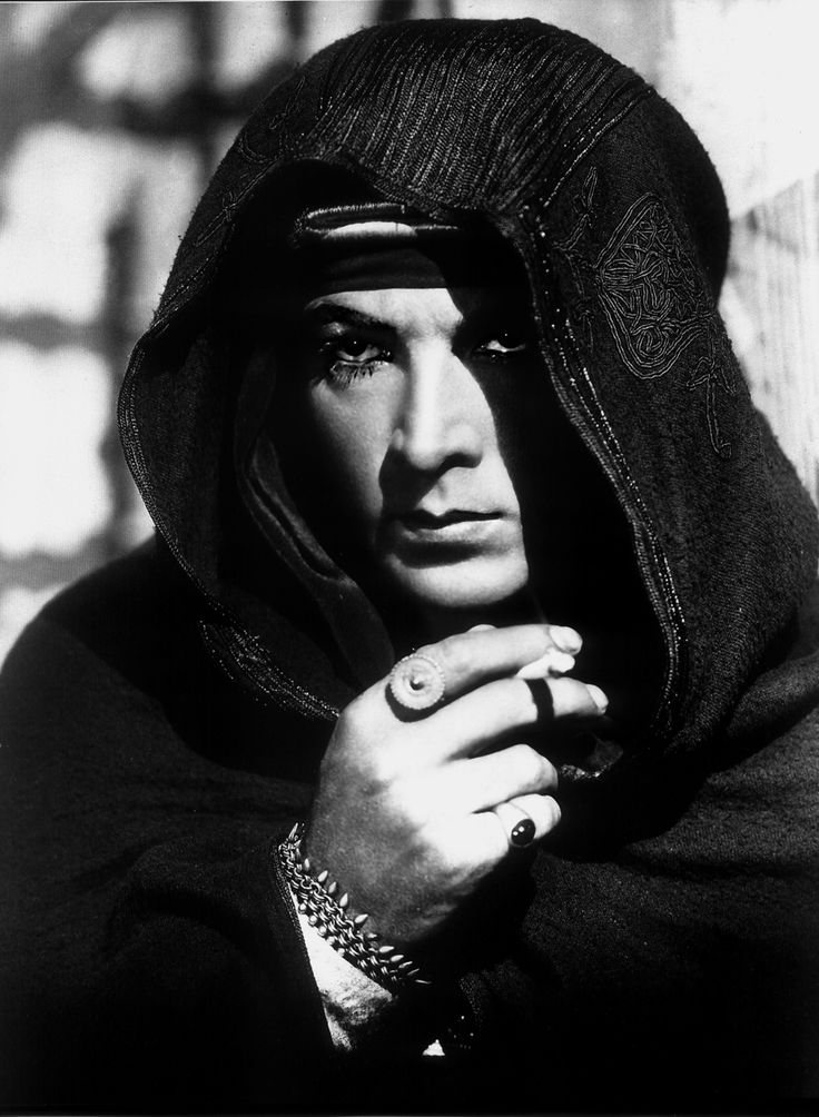 "Rudolph Valentino in ""The Sheik"""