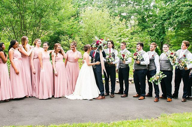 """""""This crew, they were awesome. [Jessica + Tyler] . . . Venue: @lounsbury_house 